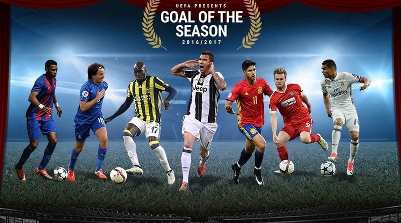 Mario Mandzukic hat das UEFA-Tor der Saison 2016/17 erzielt