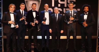Luka Modric wurde in die FIFA Weltelf 2017 gewählt