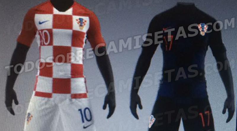 Sehen so die neuen kroatischen WM-Trikots aus?