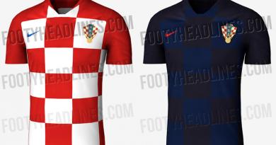 Kroatien WM-Trikots 2018: Neue Leaks sind aufgetaucht