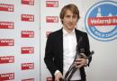 Luka Modric ist Kroatiens Fußballer des Jahres